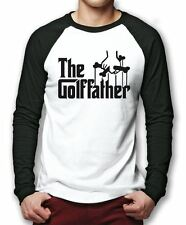 Golf Father - Funny Golfer Gift Fathers Day Men Baseball Top Many Sizes