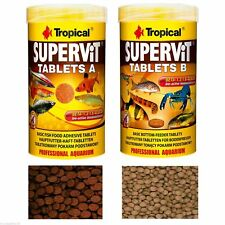 SUPER VIT TABLETS  SPECIALIST FISH FOOD FOR FRESHWATER FISH
