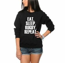 Eat Sleep Rugby Repeat Maglione - Player Allenamento Gioventù e T-shirt