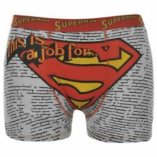 Superman Official DC Comics Mens Single Hero Boxer Shorts Boxers Adults - New