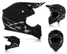 Acerbis Profile 2.0 Casco da cross Casco MX Motocross Enduro nero opaco taglia