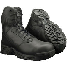 MAGNUM STEALTH FORCE 8.0 COMBAT BOOTS SIZE UK 4 - 6 WATERPROOF BLACK LEATHER WP