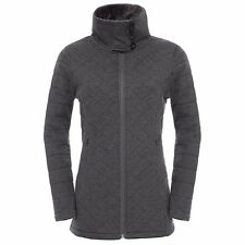The North Face Damen Caroluna Jacket Fleecejacke Graphite Grey Heather
