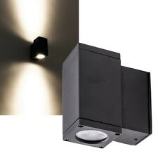 Led Wandleuchte 500lm IP54 230V 6W EEK: A Aussenleuchte Wand-Lampe Wand-Strahler