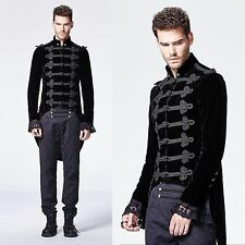 PUNK RAVE Attila Husarenmantel GOTHIC MANTEL UNIFORM ROCK VICTORIAN COAT