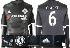 *15 / 16 - ADIDAS ; CHELSEA 3rd KIT SHIRT LS / CLARKE 6 = SIZE*