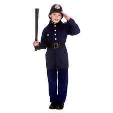 Boys Victorian Policeman Costume for Dickensian Edwardian Fancy Dress Outfit