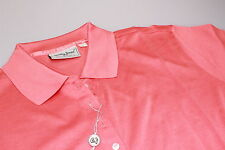 Bobby Jones Damas 100% Algodón Camisa Polo Golf Brillante Fuego Naranja S,M,L,XL