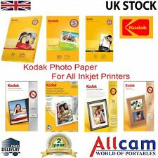 Kodak Photo Paper Multiple Options Size, Finish & Quality *New Retail Packs