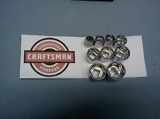 "NEW Craftsman 3/8"" Drive Dr SAE Standard Shallow Socket 6 Pt Point Choose SIZE"