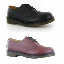 Dr.Martens 1461 PW 3 Eyelets Leather Mens Shoes