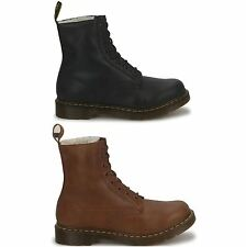 Dr.Martens Serena 8 Eyelets Fleece Leather Womens Boots