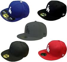 New Era 59Fifty LA Dodgers Pitching Cap black, white,royal,red,schwarz,rot,weiß