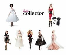 Barbie Collectors Editions - Gold, black or pink label adult collectable dolls