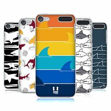 HEAD CASE DESIGNS STAMPE SQUALO COVER RETRO RIGIDA PER APPLE iPOD TOUCH MP3