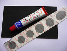 Bicycle Innertube Puncture Repair Glue Patches Patch Strip Set Individual Bike