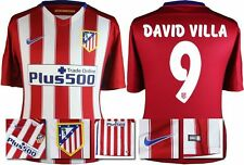 *15 / 16 - NIKE ; ATLETICO MADRID HOME SHIRT SS / DAVID VILLA 9 = SIZE*