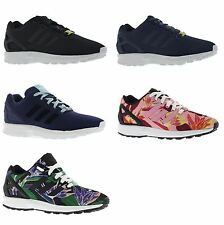 Adidas ZX Flux GS Boys Girls youth Junior Casual Lace Up Mesh Trainers