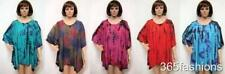 grande taille TIE AND DYE Funky Brodé Tunique Haut 16 18 20 22 24 26 28