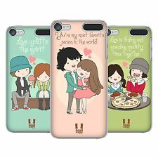 HEAD CASE DESIGNS ALL ABOUT LOVE HARD BACK CASE FOR APPLE iPOD TOUCH MP3