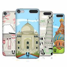 HEAD CASE DESIGNS DOODLE CITIES SERIES 3 HARD BACK CASE FOR APPLE iPOD TOUCH MP3