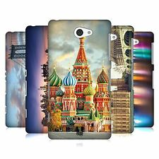 HEAD CASE DESIGNS CITY SKYLINES HARD BACK CASE FOR SONY PHONES 4