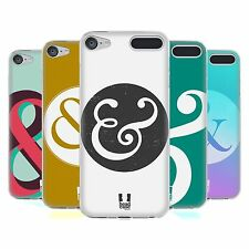 HEAD CASE DESIGNS AMPERSAND LOVE SOFT GEL CASE FOR APPLE iPOD TOUCH MP3
