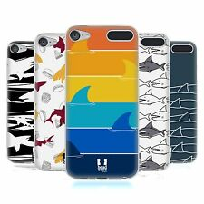 HEAD CASE DESIGNS SHARK PRINTS SOFT GEL CASE FOR APPLE iPOD TOUCH MP3