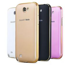 UltraThin Aluminum Metal Bumper+Back Case Cover For Samsung Galaxy Note 1 N7000