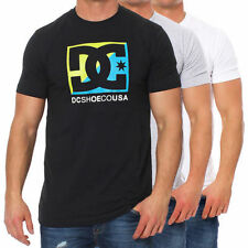 DC Shoes Men's DTMJE082 Crew neck Skater Short Sleeve T-Shirt Leisure Shirt Logo
