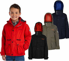RRP £50 REGATTA BOYS THERMO-GUARD INSULATED WATERPROOF JACKET Rsshp