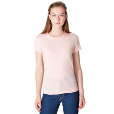 American Apparel Ladies Women's Fine Jersey Short Sleeve TShirt AA003