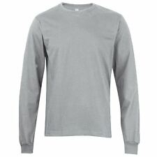 American Apparel Mens Fine Jersey Long Sleeve T-shirt AA010