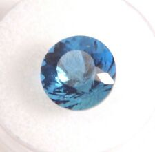 Blue Obsidian (Round, Cushion, Trillion, Oval) Natural Gemstone VVS