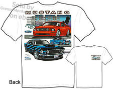Mustang T Shirts Ford Shirt Mustang Clothing 1965 1966 1967 1968 1969 Evolution