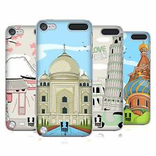 HEAD CASE DESIGNS DOODLE CITIES SERIES 3 BACK CASE FOR APPLE iPOD TOUCH 5G 6G