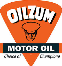 Oilzum Motor Oil Vinyl Decal / Sticker ** 5 Sizes **