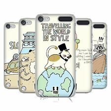HEAD CASE DESIGNS WORLD TRAVELLER HARD BACK CASE FOR APPLE iPOD TOUCH 5G 6G