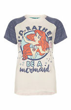 DISNEY LITTLE MERMAID Ladies Pyjamas Primark T Shirt Leggings