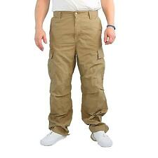 Carhartt Cargo Pant leather rinsed Hose Herren Cargohose, Farbe beige, 14596