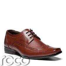 Boys Formal Shoes, Cherry Brown Shoes, Boys Brogues, Brown Shoes