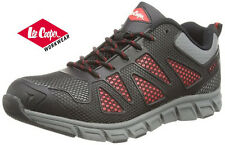 Lee Cooper Workwear Mens Steel Toe Cap Safety Trainer Boot Shoe Black LC088