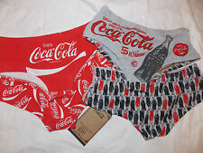 Ladies COCA COLA Knickers Primark Hipsters Briefs