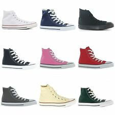 Converse Chuck Taylor All Star Hi Canvas Mens Womens Ladies Unisex Trainers