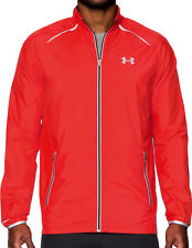 Under Armour Launch Storm Mens Running Jacket - Red