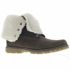 Timberland 6Inch Shearling Brown Youths Boots