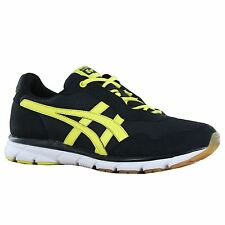 Onitsuka Tiger Harandia Black Yellow Mens Trainers
