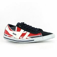 Gola Quota Union Jack Navy White Red Womens Trainers