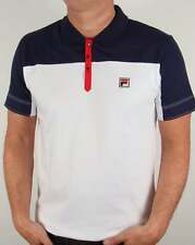 Fila Vintage Corsair Polo Shirt in White - tennis Borg 80s casual settanta