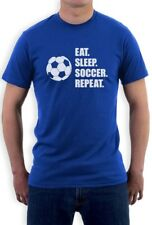 Eat Sleep Soccer Repeat - Cool Gift for Soccer Fans T-Shirt Players